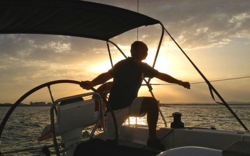 paseo en velero