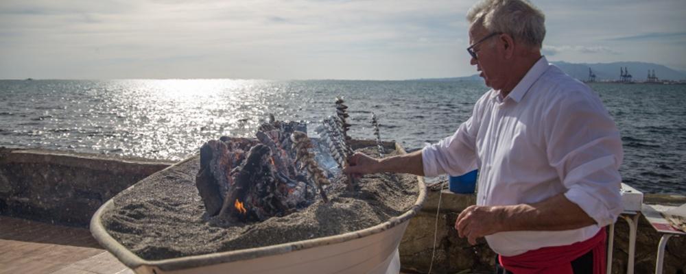 La espetada malagueña. Patrimonio marinero