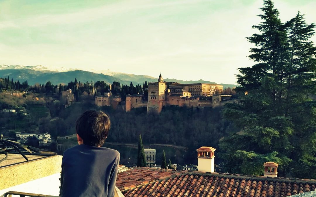 Granada, city of Alhambra