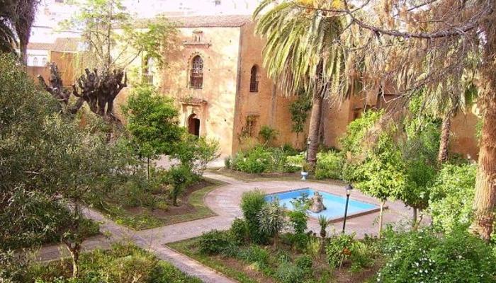 Jardin de estilo andaluz en Chefchaouen